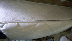 Queen Mattress and Box spring Set with Railings