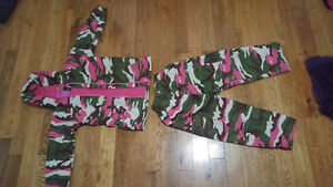 Girls Northpeak camouflage