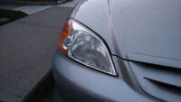 Headlight Restoration and Cleaning-$30