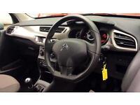 2015 Citroen C3 1.0 PureTech VTR+ 5dr Manual Petrol Hatchback