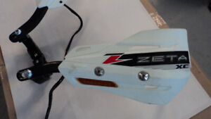 used Zeta hand guards w/ built in signal flashers