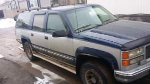1994 gmc suburban willing to trade