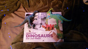 What the dinosaurs did book