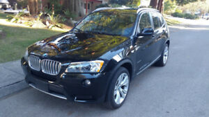 2014 BMW X3 XDRIVE 35i 72000KM LOADED