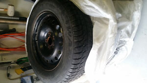 2x Sets of Winter tires and rims