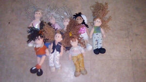small stuffed dolls