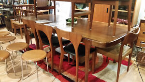 Mid Century Modern Furnishings and Vintage Clothing