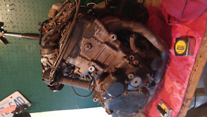 Gsxr 600 complete engine