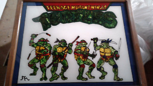 TMNT picture in frame