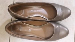 Clarks new wedge pumps soft cushioned shoes