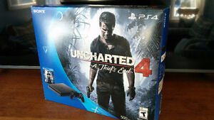 PS4 with Uncharted 500GB