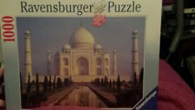 Reduced BNIB Taj Mahal 1000 piece puzzle