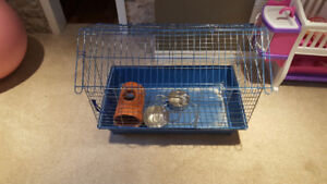 Small cage for sale asking $40.00 OBO!  Good condition!