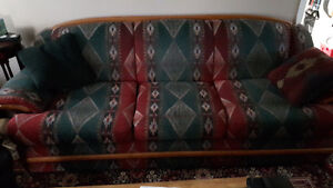 CLASSIC AZTEC COUCH AND CHAIR SET