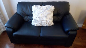 Love Seat and Matching Chair - As New