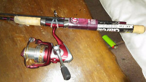 Brand New Abu Garcia Specialist Spinning Combo, 6-ft 6-in
