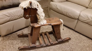 Horse wooden collectable