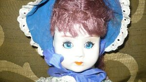 VINTAGE ADORABLE MID CENTURY BISQUE DOLL, CLOTH BODY Kitchener / Waterloo Kitchener Area image 2