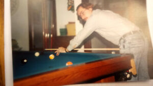 Professional Slate Snooker Table 41/2' X 9' Was $5000 New
