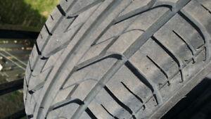 4 pneu 195/60R15 posés sur RIM