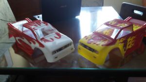 rc truck body custom painted brand new 1/8..1/10