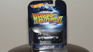 1/64 Hot Wheels Retro Back to the Future II Time Machine Hover M