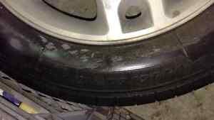 225 60 18 pneus et mags d' été  Ford freestyle