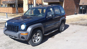 2002 Jeep Liberty Sport SUV, Crossover