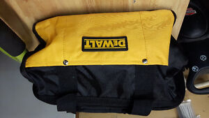 brand new dewalt  small contractor tool bag