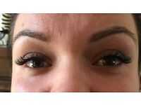 **£40 full set 1-1 eyelash extension/gel shellack £15 by a qualified technician