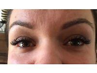 **£40 full set 1-1 eyelash extension/gel shellack £15 by a qualified technician