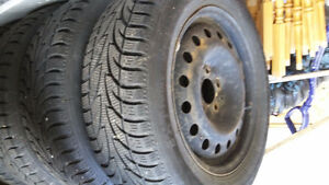 4WINTER CLAW TIRES RIMS AND COVERS St. John's Newfoundland image 1