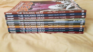 The Walking Dead Graphic Novels volumes 1-10