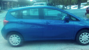 2015 Nissan Versa Note SV Gas Efficient Car almost new & low KM
