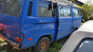 Volks Kombi Westfalia 1981 2.0 liter porsche, 4 vit speed manual
