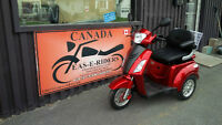 E-Bikes,, Mobility Tricycles, Lay Aways Heated Storage