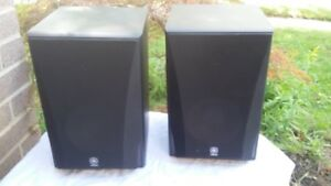 Mint Yamaha NS-5290 2-Way Bookshelf Speakers (Pair).8 Ohms, Nomi