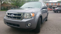 2008 FORD ESCAPE XLT ** 4X4 ** A/C ** CUIR **