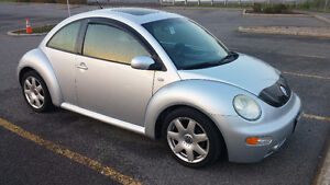 2003 Volkswagen Beetle Turbo (GLX) / One owner, low kms.
