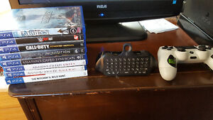 Ps4 games, controller and controller keyboard