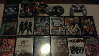 Lot de jeux / Games lot (PS1 , PS2 , Gamecube & Accessories)