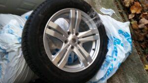 "Winter Tires - Michelin X-Ice on 16"" DAI Alloy Rims"