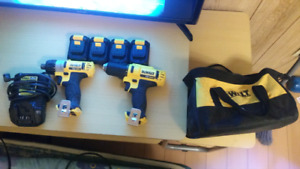 12V Dewalt Impact screw driver and drill for sale