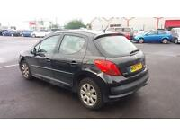 2007 07 PEUGEOT 207 1.4 16V S 5 DOOR.GREAT VALUE.LOW INSURANCE.ANY PX WELCOME .