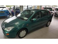 2001 Ford Focus LX TD DI --10 SERVICE STAMPS/FULL SERVICE - Timing belt