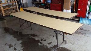 Folding Tables...ideal for yard sales or...
