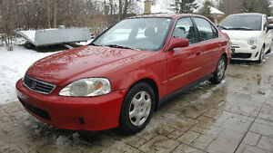 1999 Honda Civic EX - No Rust, Low KM, Safety + E-Test - Reduced