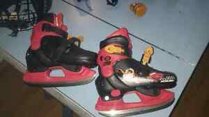 Cars adjustable skates size 8-11y Kingston Kingston Area image 1