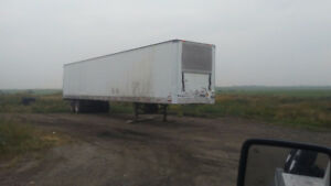 53 foot dry storge trailer