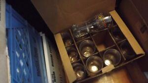 BOX SET OF 6 TALL MOOSEHEAD BEER GLASSES